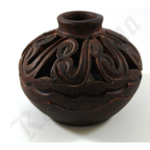Artesanal ceramic burner