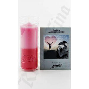 Returned love candle
