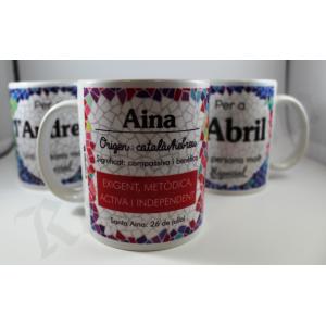 Catalan name mugs