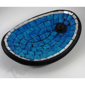 Oval mosaic burner