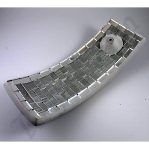 Rectangular mosaic burner